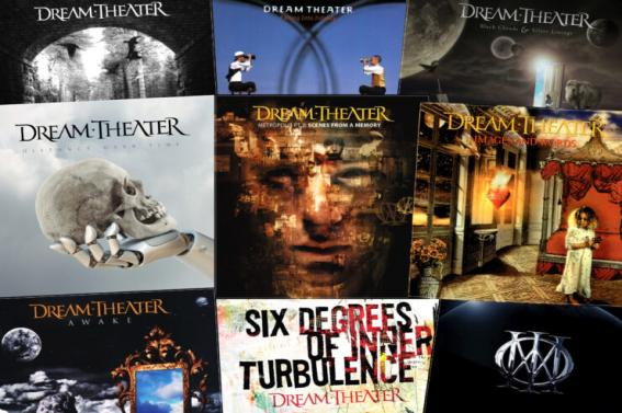 Dream Theater, el rànquing